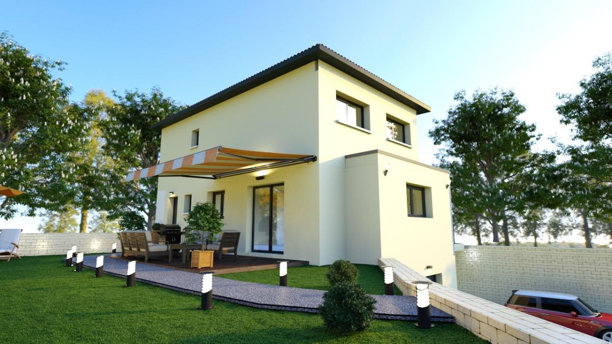 Maisons du constructeur ESQUISS 69 • 120 m² • VAUGNERAY