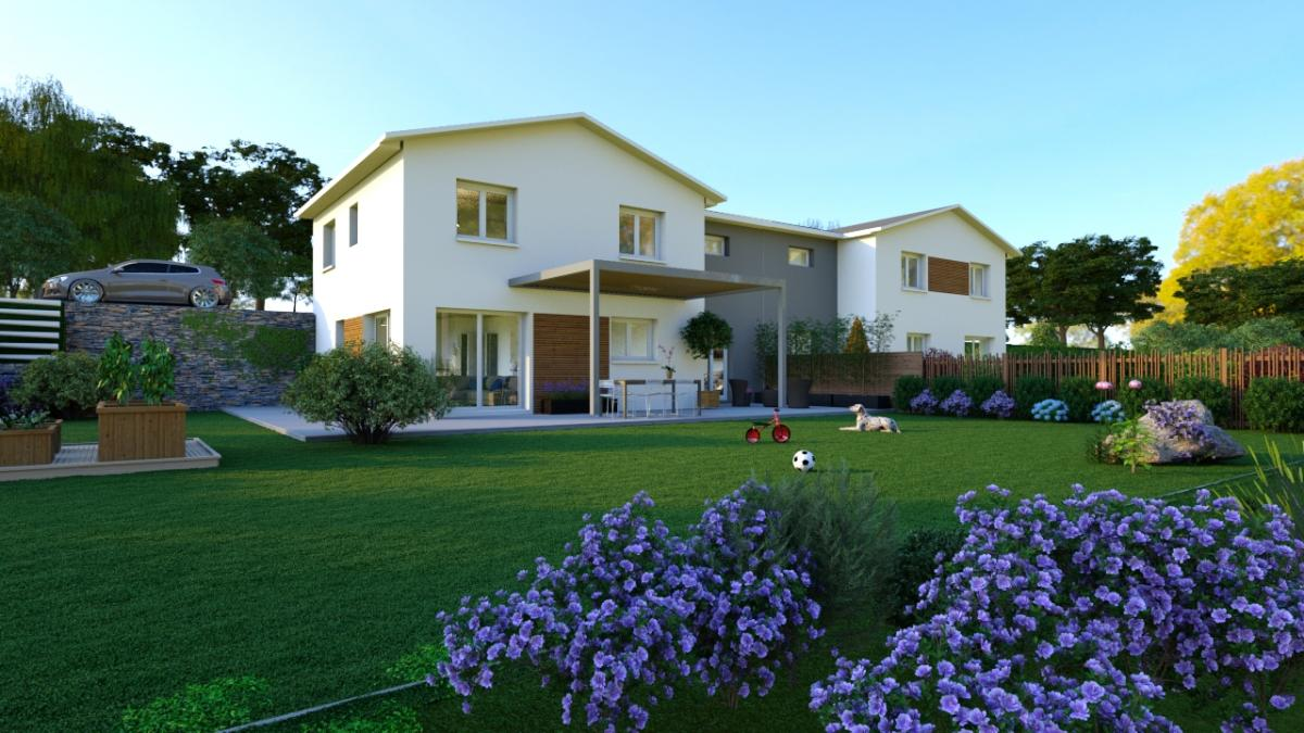 Maisons du constructeur ESQUISS 69 • 124 m² • GIVORS