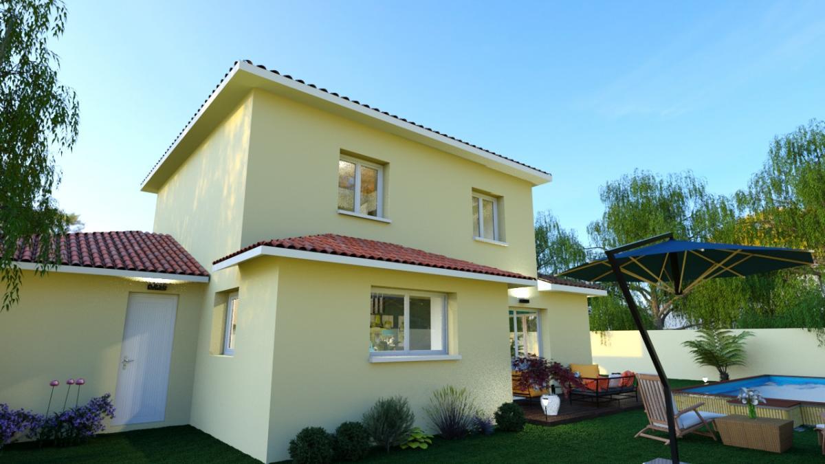 Maisons du constructeur ESQUISS 69 • 104 m² • IRIGNY