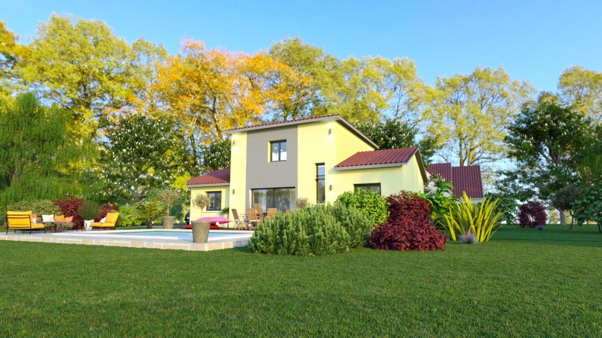 Maisons du constructeur ESQUISS 69 • 110 m² • LENTILLY