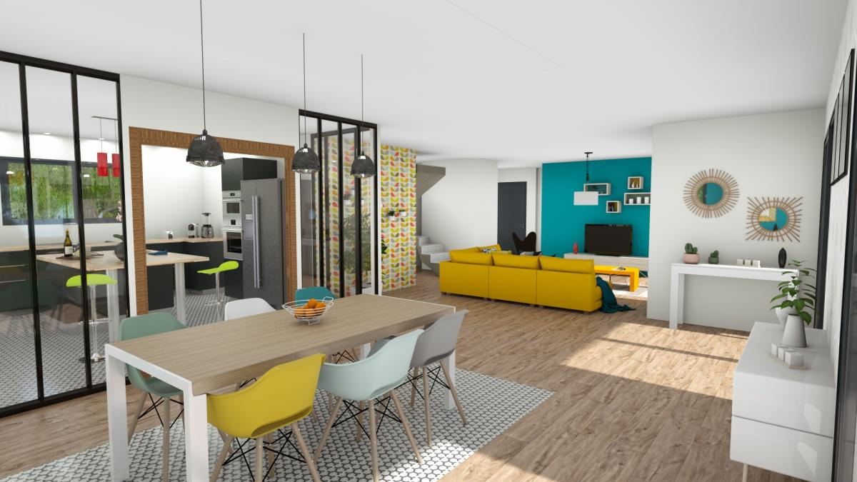 Maisons du constructeur ESQUISS 69 • 175 m² • CHAPONNAY