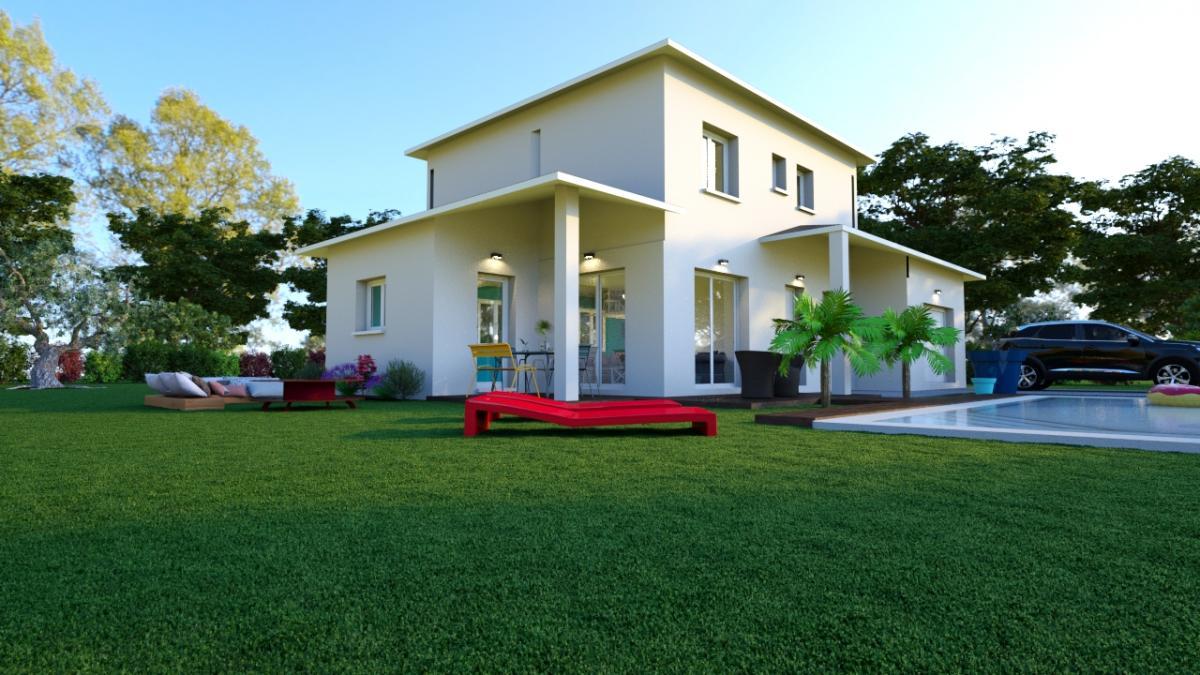 Maisons du constructeur ESQUISS 69 • 110 m² • MARENNES