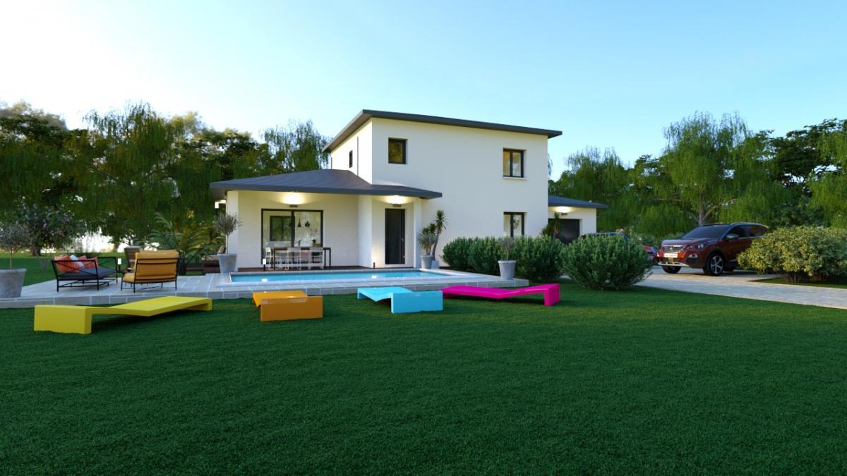 Maisons du constructeur ESQUISS 69 • 117 m² • MARCY L'ETOILE