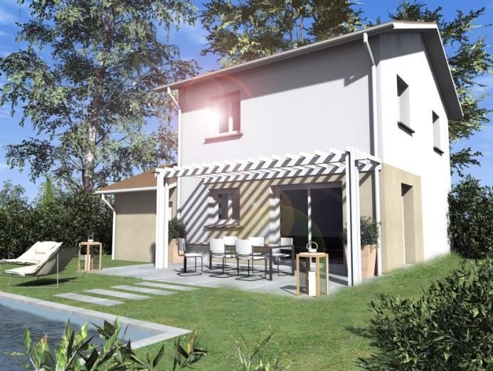 Maisons du constructeur ESQUISS 69 • 100 m² • ANSE