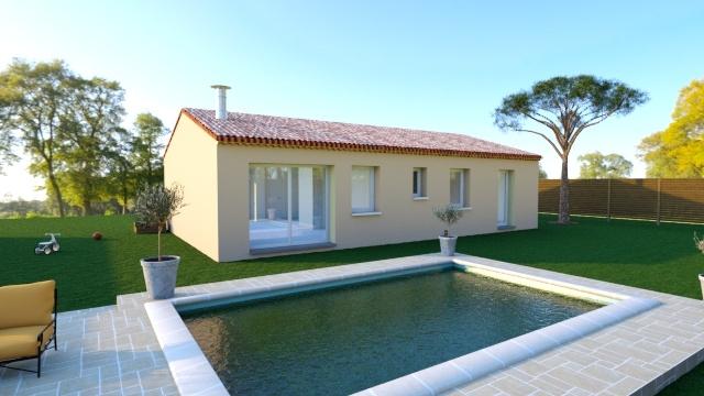 Maisons + Terrains du constructeur MAISON FAMILIALE • 117 m² • BARON
