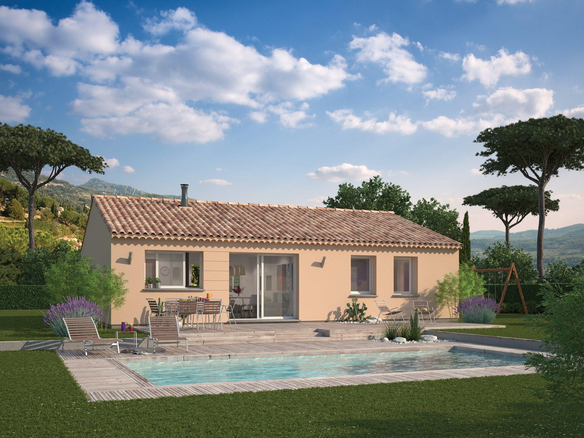 Maisons + Terrains du constructeur MAISON FAMILIALE • 97 m² • LE PORGE