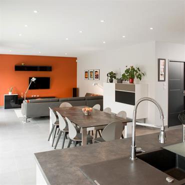 Maisons + Terrains du constructeur MAISON FAMILIALE • 112 m² • BEAUTIRAN