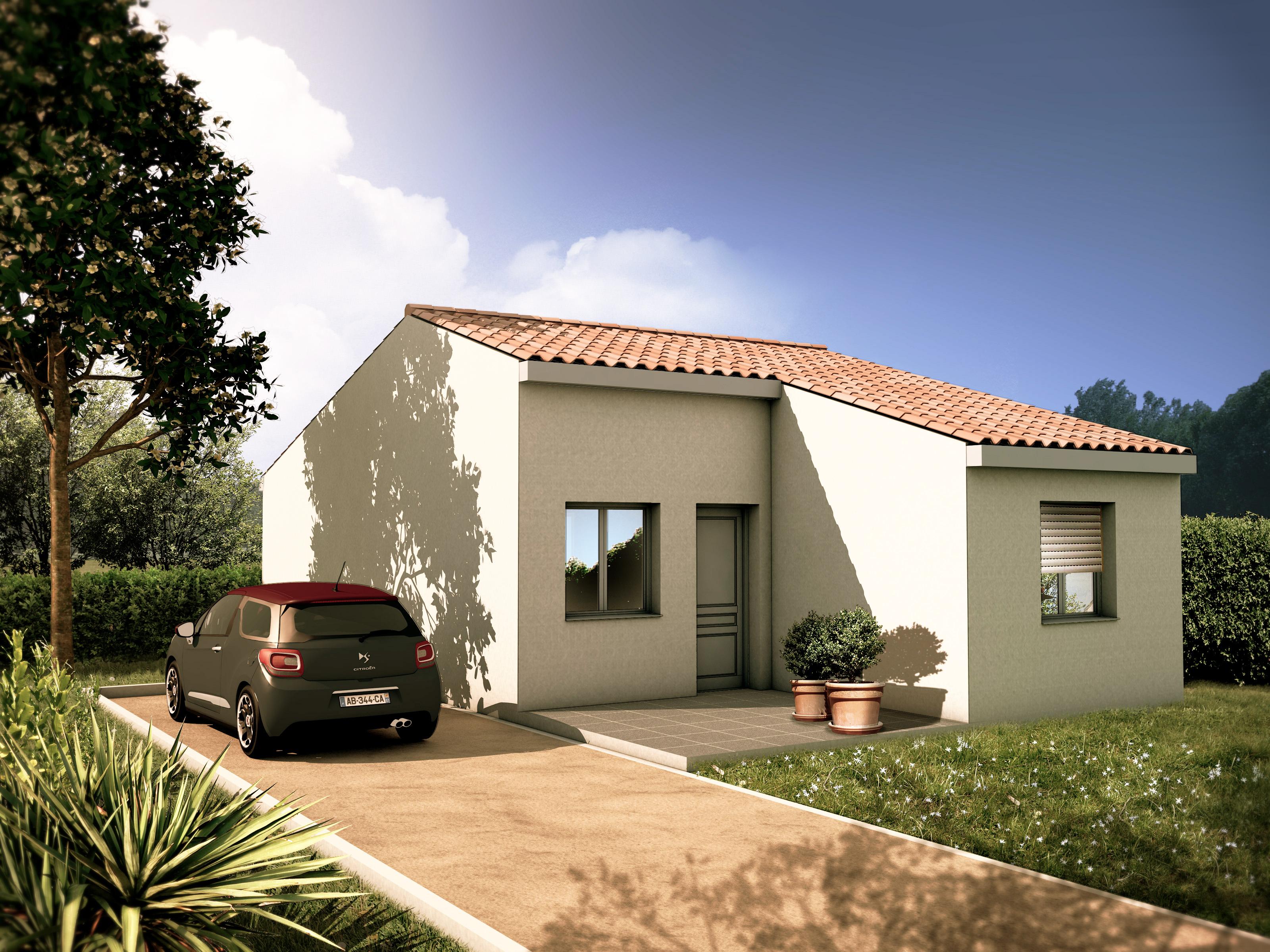 Maisons du constructeur ACCES HABITAT 66 • 60 m² • PIA