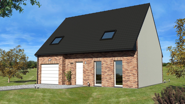 Maisons + Terrains du constructeur MAISON EUREKA • 90 m² • ENNEVELIN