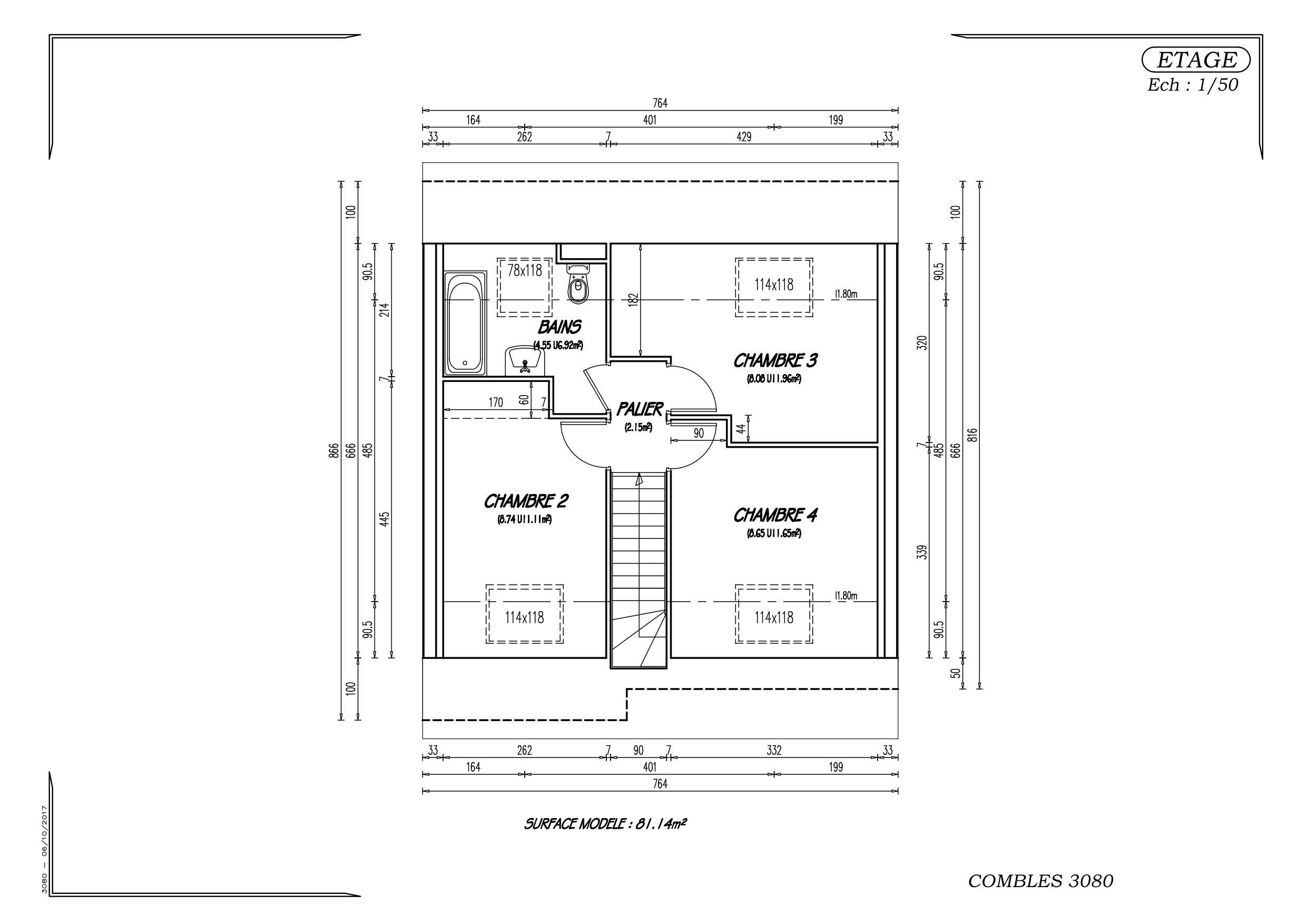 Maisons + Terrains du constructeur MAISON EUREKA • 80 m² • CAPPELLE EN PEVELE