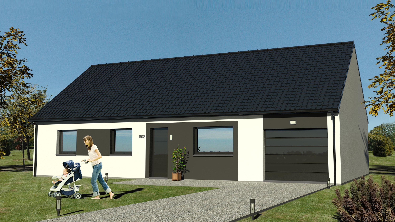 Maisons + Terrains du constructeur MAISON EUREKA • 70 m² • CANTIN