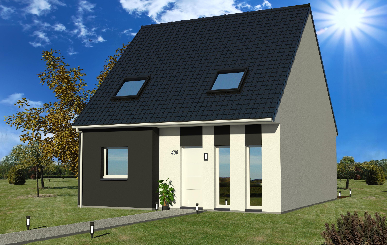 Maisons + Terrains du constructeur MAISON EUREKA • 90 m² • FOURNES EN WEPPES