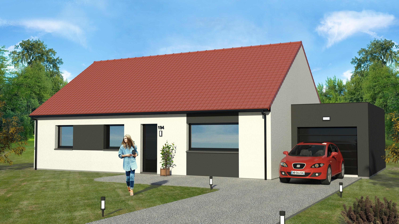 Maisons + Terrains du constructeur MAISON EUREKA • 90 m² • CANTIN