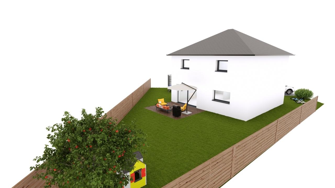 Maisons + Terrains du constructeur MAISON EUREKA • 100 m² • BEUVRY LA FORET