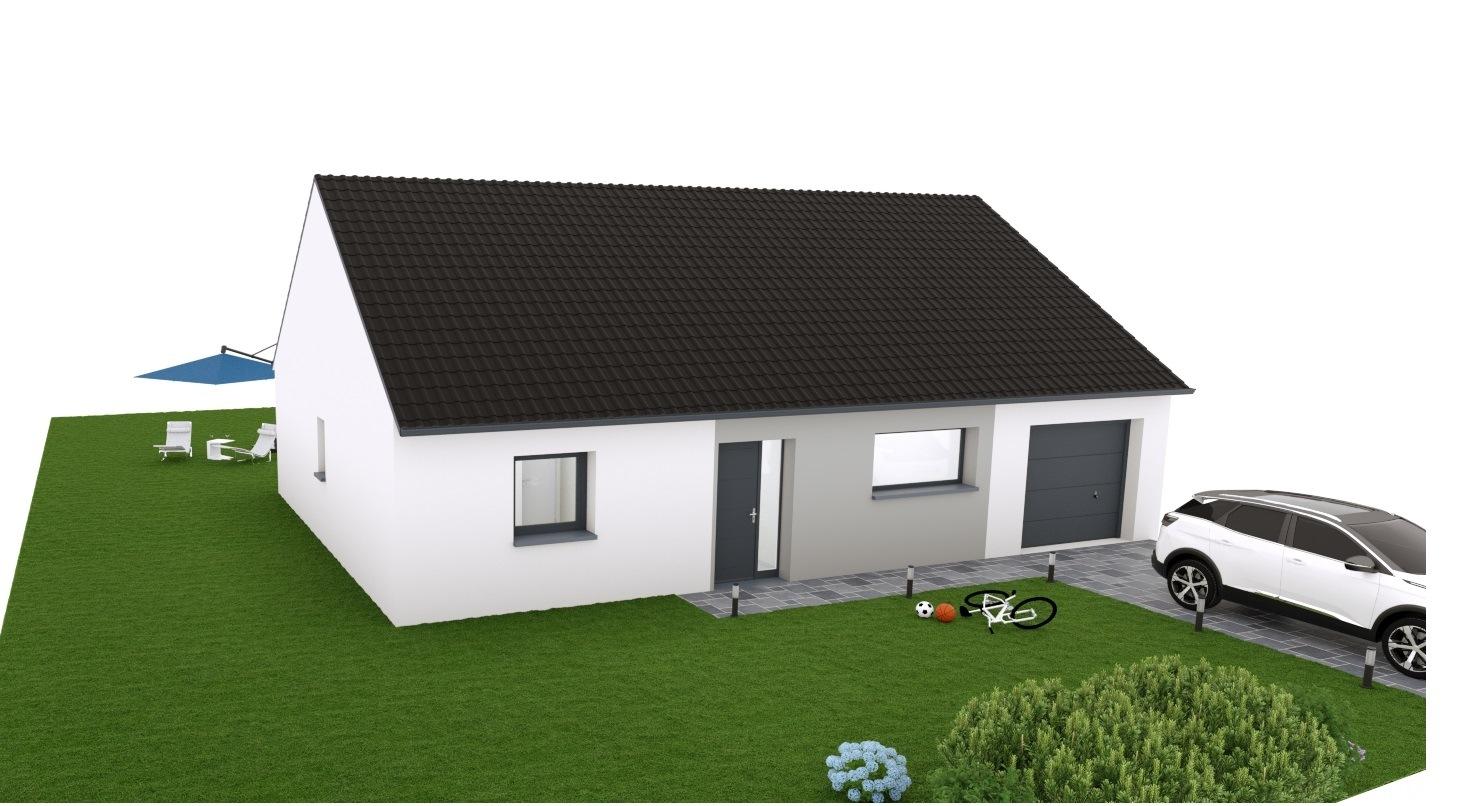 Maisons + Terrains du constructeur MAISON EUREKA • 90 m² • RAIMBEAUCOURT