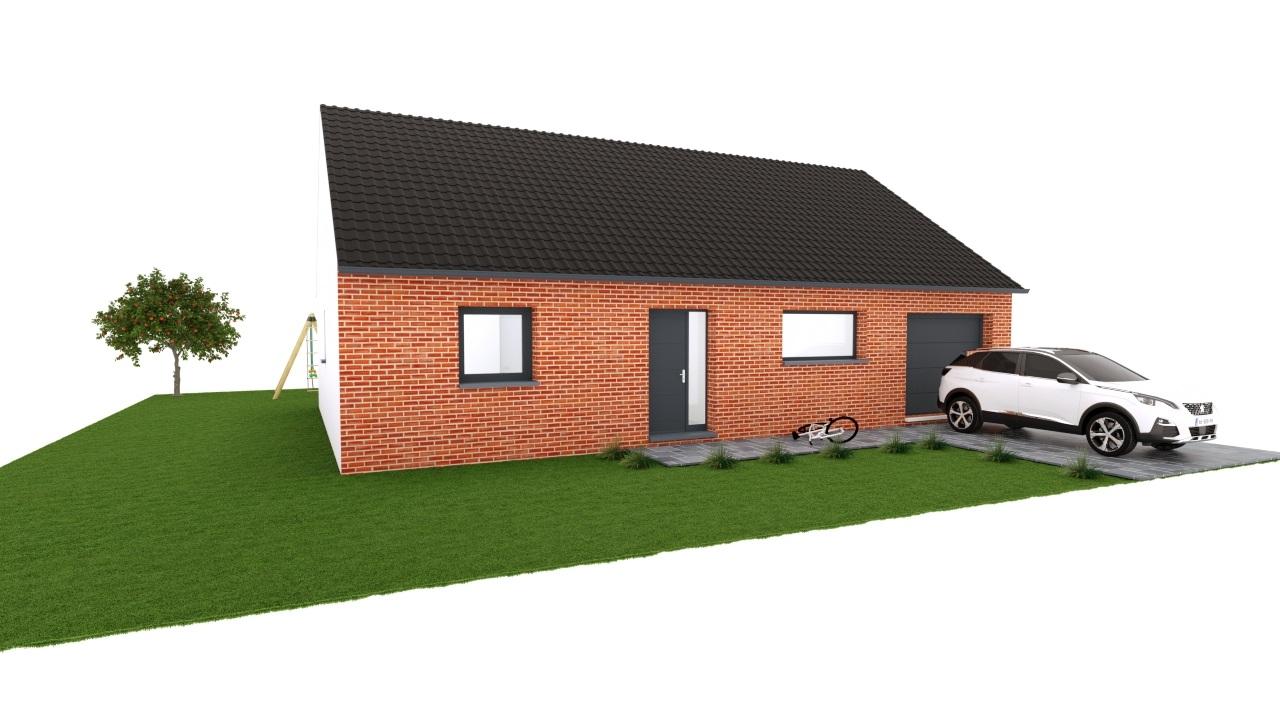 Maisons + Terrains du constructeur MAISON EUREKA • 90 m² • MONTIGNY EN OSTREVENT