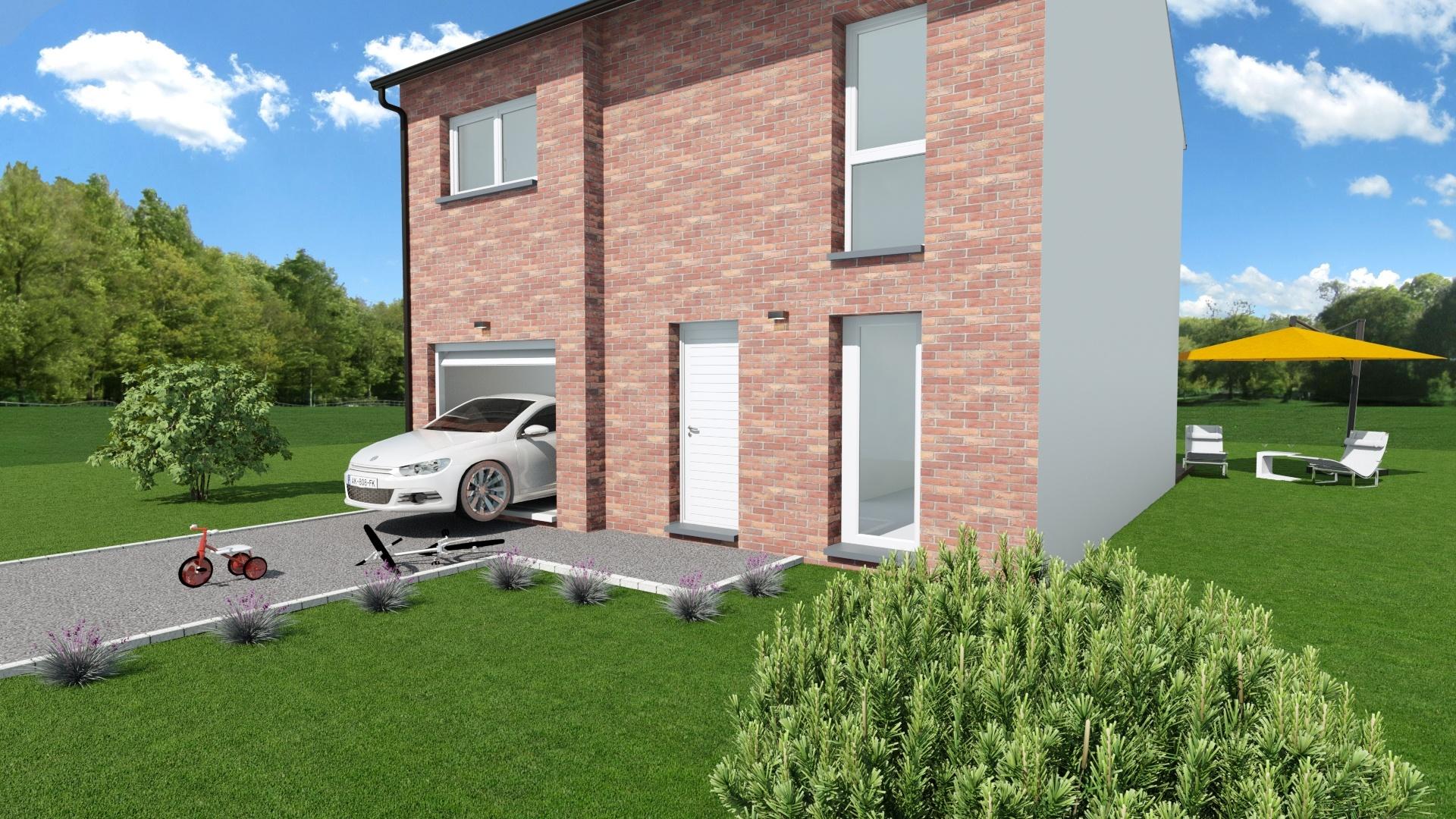 Maisons + Terrains du constructeur MAISON EUREKA • 90 m² • LECELLES