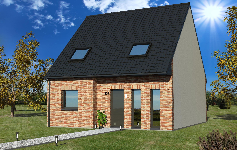 Maisons + Terrains du constructeur MAISON EUREKA • 90 m² • WATTRELOS