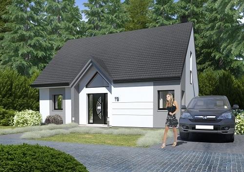 Maisons + Terrains du constructeur RESIDENCES PICARDES • 110 m² • ROSIERES EN SANTERRE