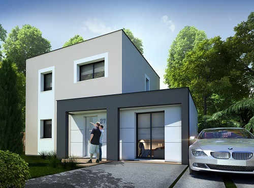 Maisons + Terrains du constructeur RESIDENCES PICARDES • 91 m² • SALOUEL