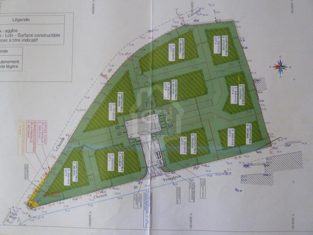 Terrains du constructeur PONT IMMOBILIER • 549 m² • PONT SAINT ESPRIT