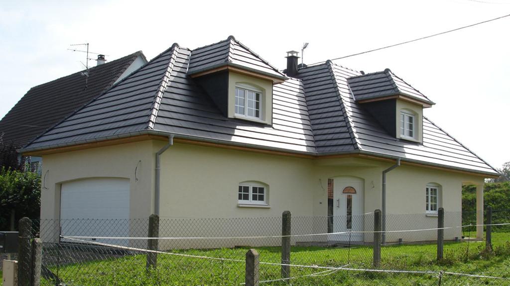 Réalisations du constructeur EUROMAISONS • BLOTZHEIM
