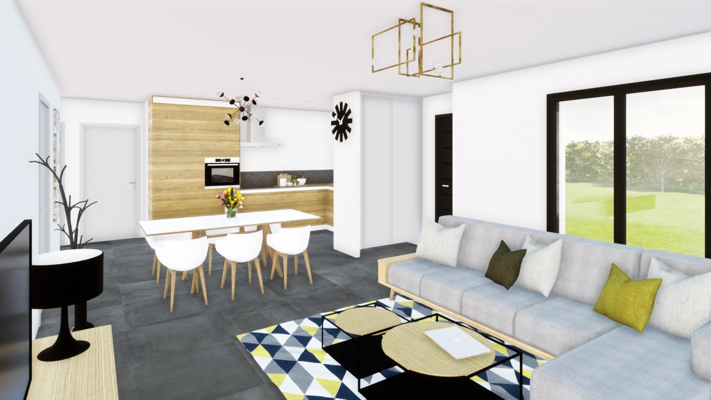 Maisons du constructeur DESIGN HABITAT • 80 m² • TOUVOIS