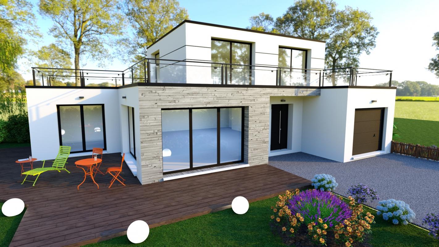 Maisons du constructeur DESIGN HABITAT • PONT SAINT MARTIN