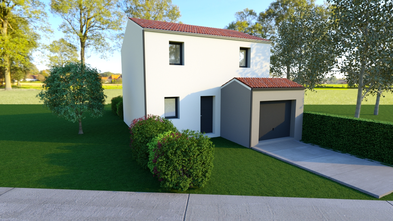 Maisons du constructeur DESIGN HABITAT • 85 m² • TOUVOIS