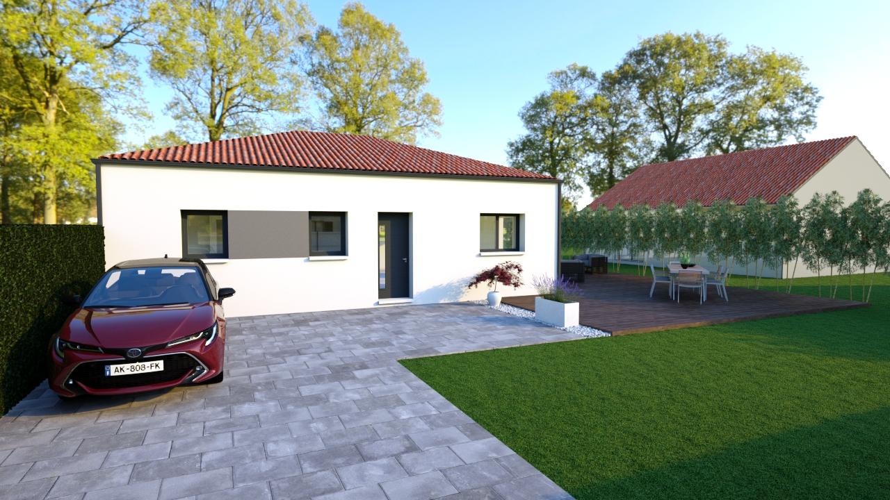 Maisons du constructeur DESIGN HABITAT • 80 m² • VERTOU