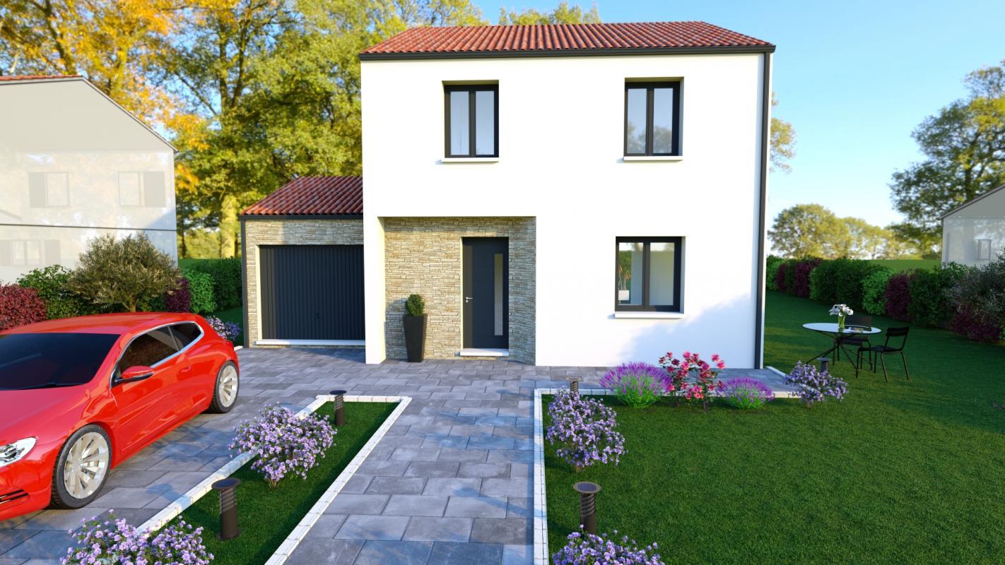 Maisons du constructeur DESIGN HABITAT • 110 m² • GETIGNE