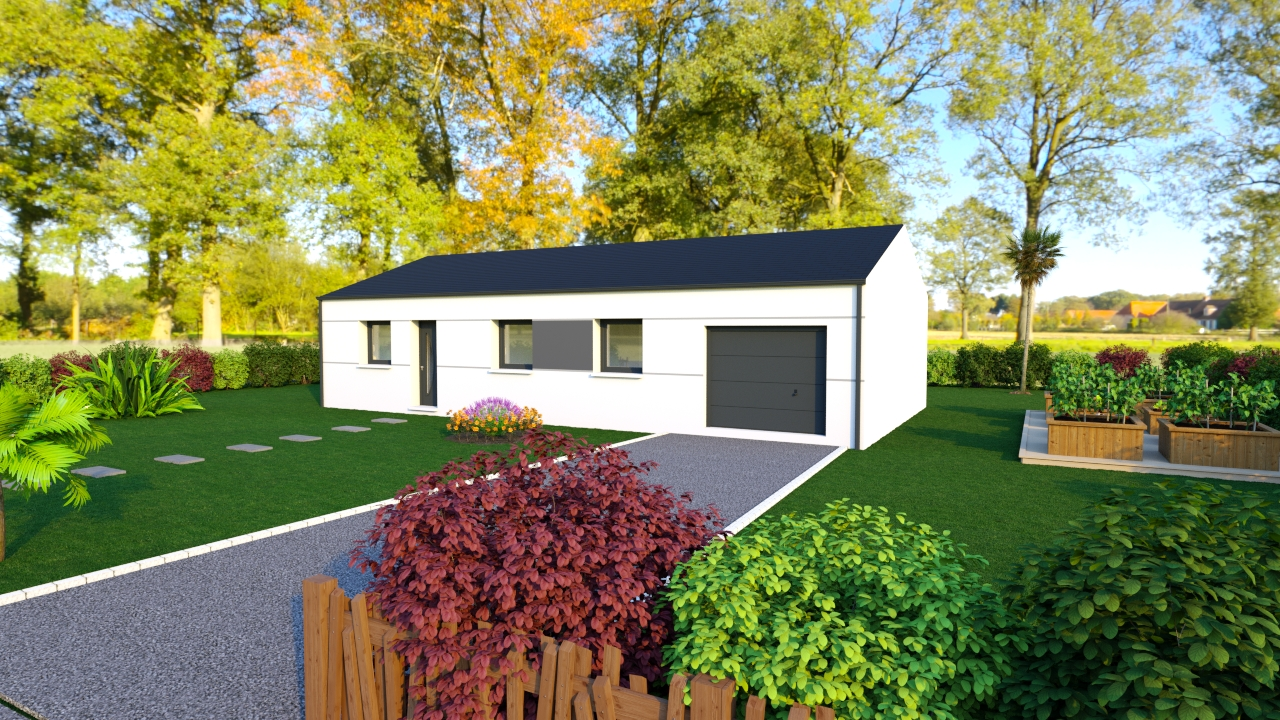 Maisons du constructeur DESIGN HABITAT • SAINT NAZAIRE