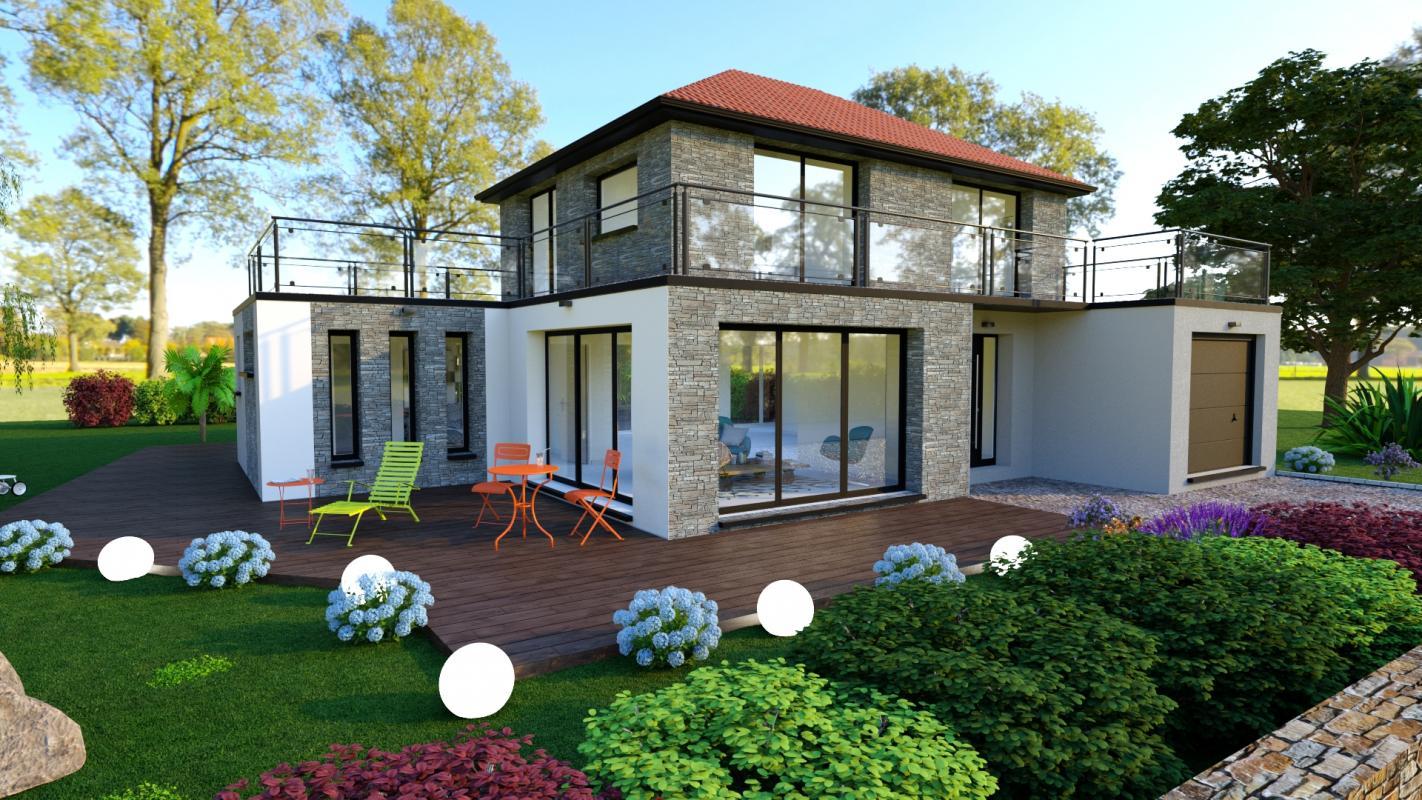 Maisons + Terrains du constructeur DESIGN HABITAT • PORNICHET