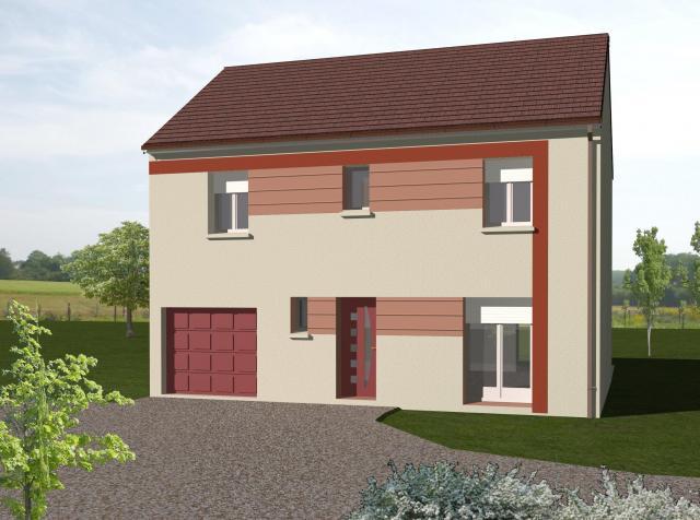 Maisons du constructeur LDP • 100 m² • MARINES