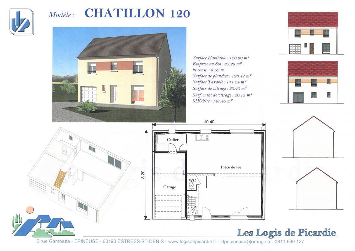 Maisons du constructeur LDP • 115 m² • BESSANCOURT