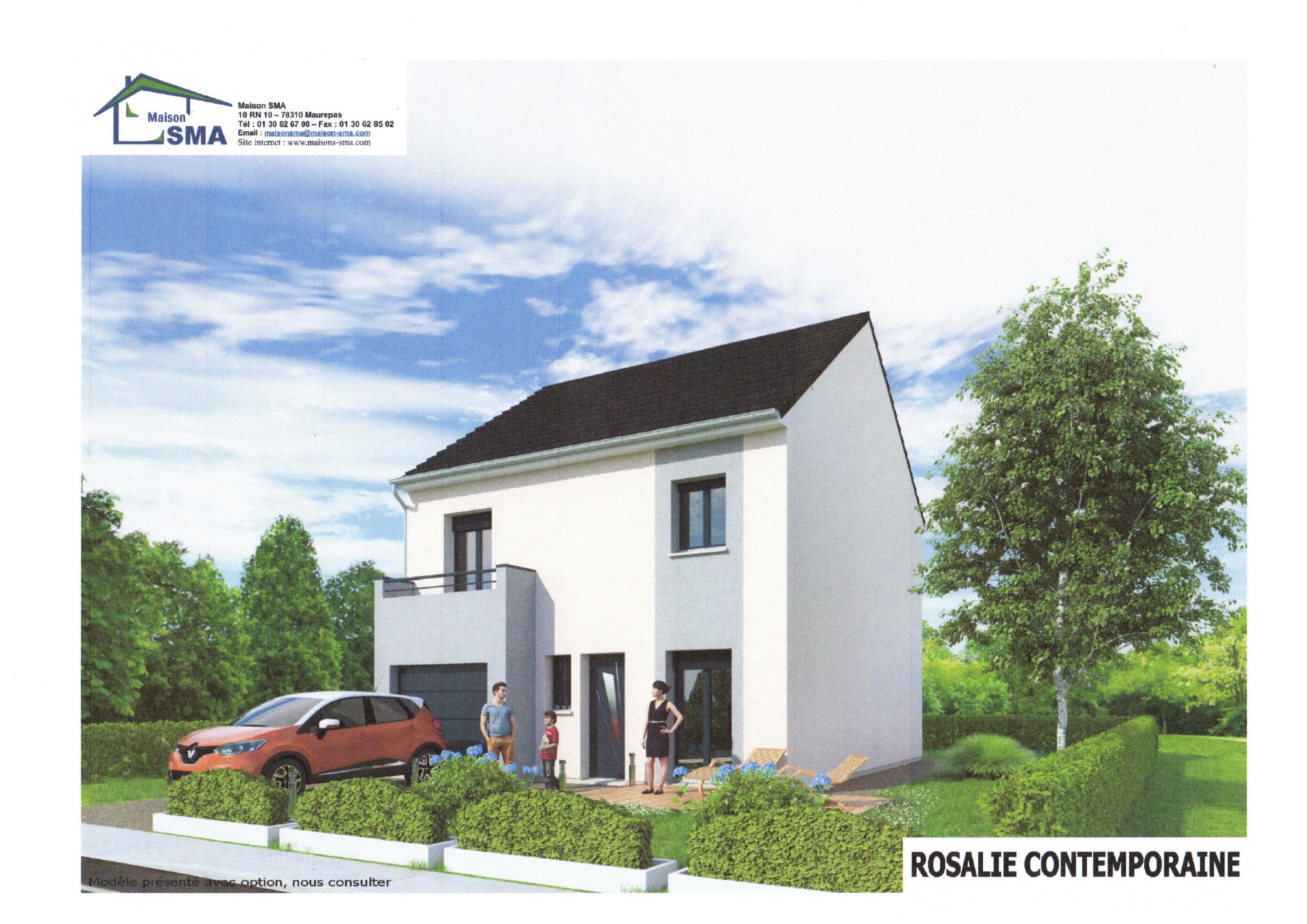 Maisons + Terrains du constructeur MAISON SMA • 90 m² • FONTENAY MAUVOISIN