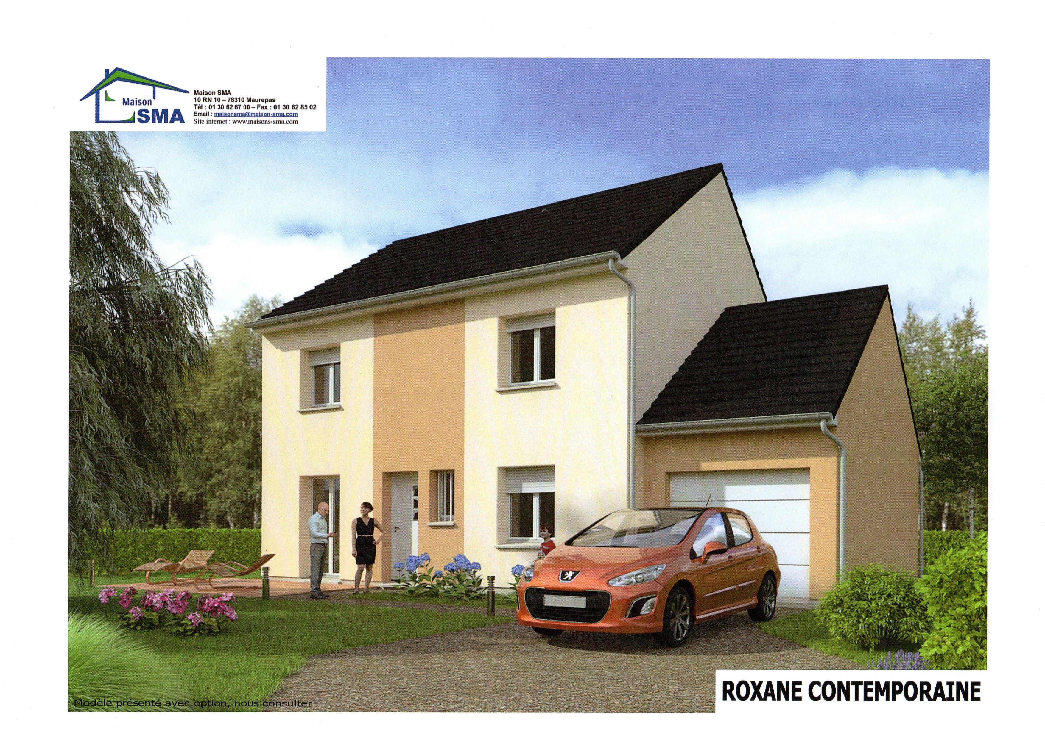 Maisons + Terrains du constructeur MAISON SMA • 120 m² • MANTES LA JOLIE