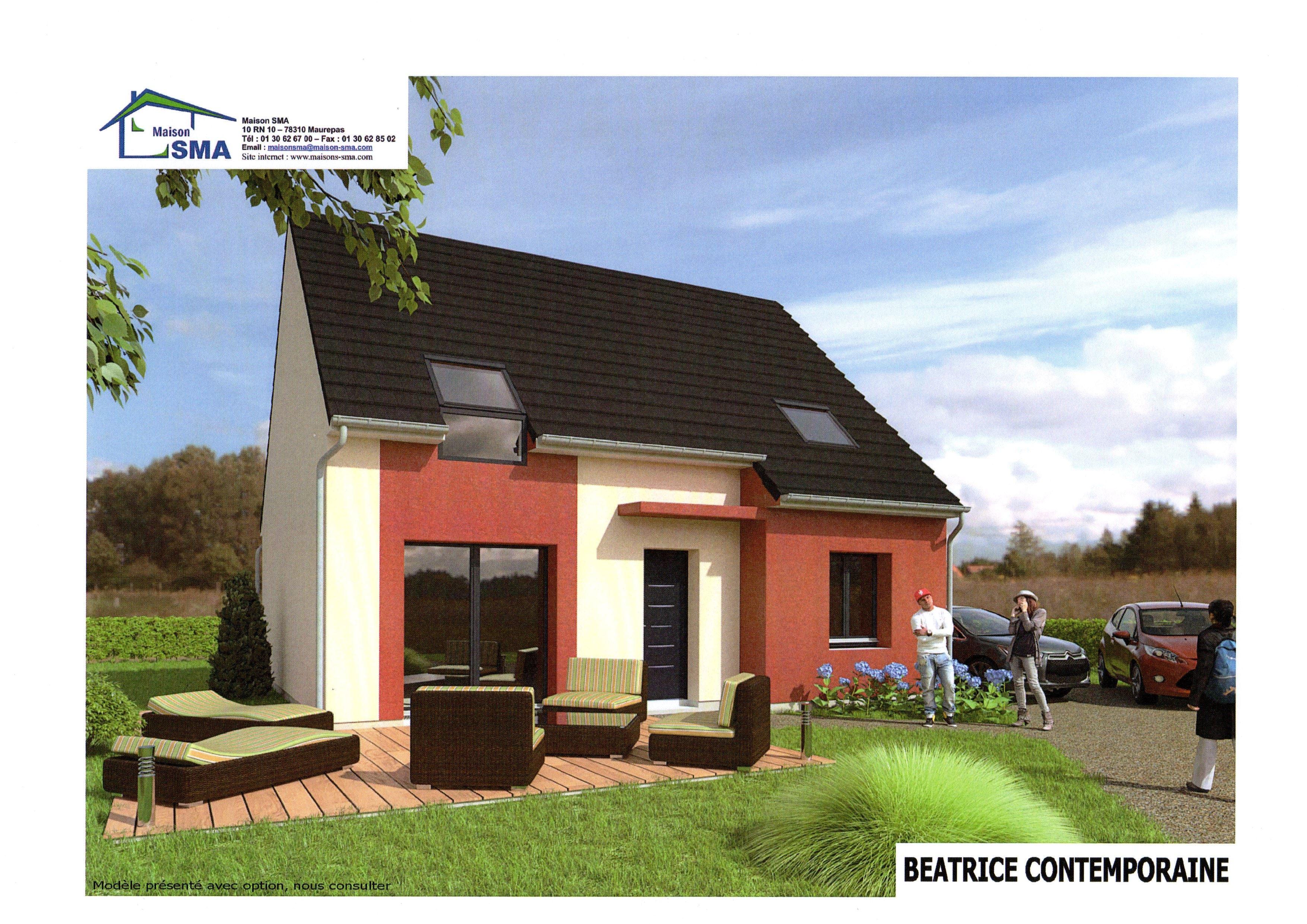 Maisons + Terrains du constructeur MAISON SMA • 100 m² • BAZAINVILLE