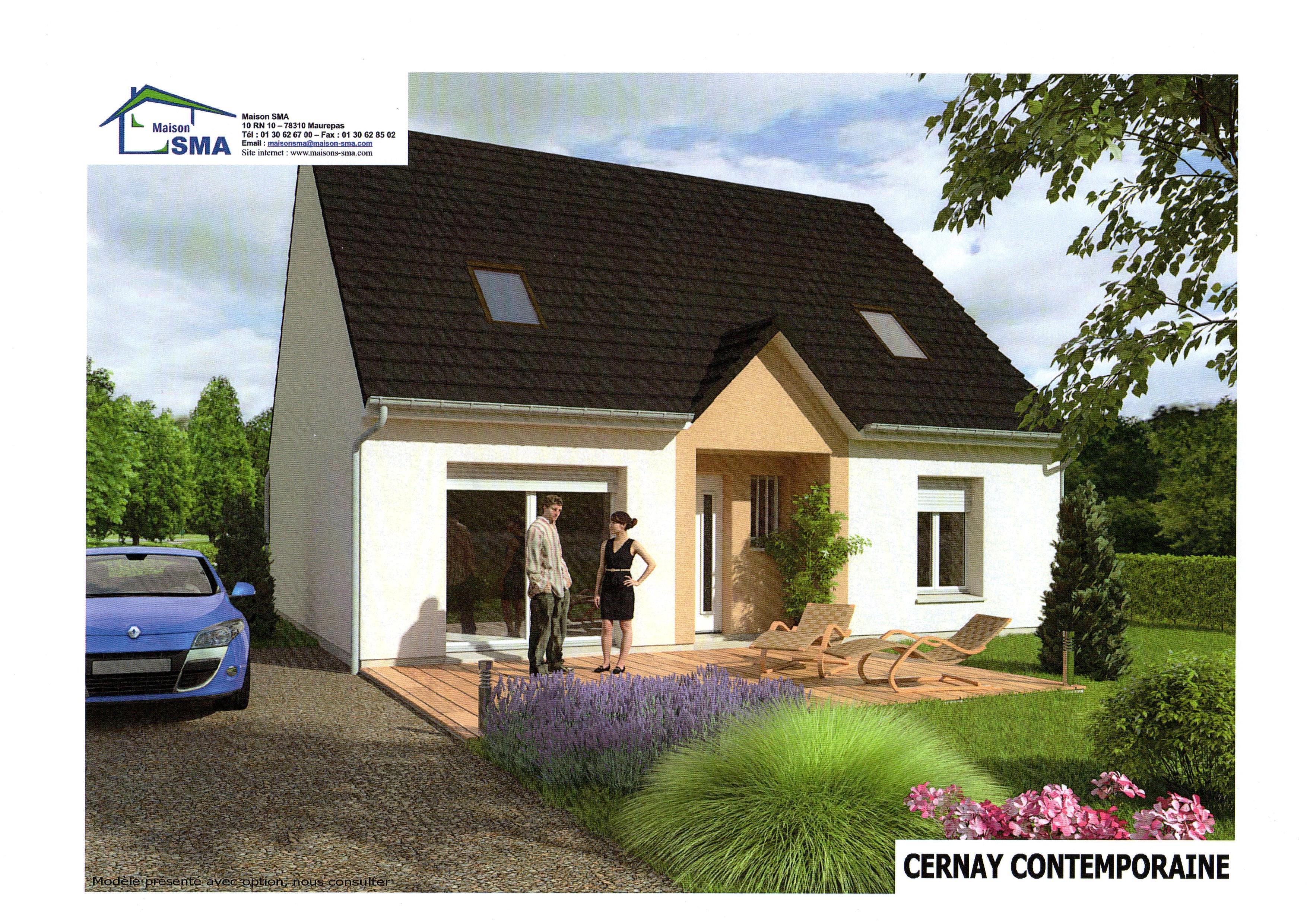 Maisons + Terrains du constructeur MAISON SMA • 115 m² • LONGNES