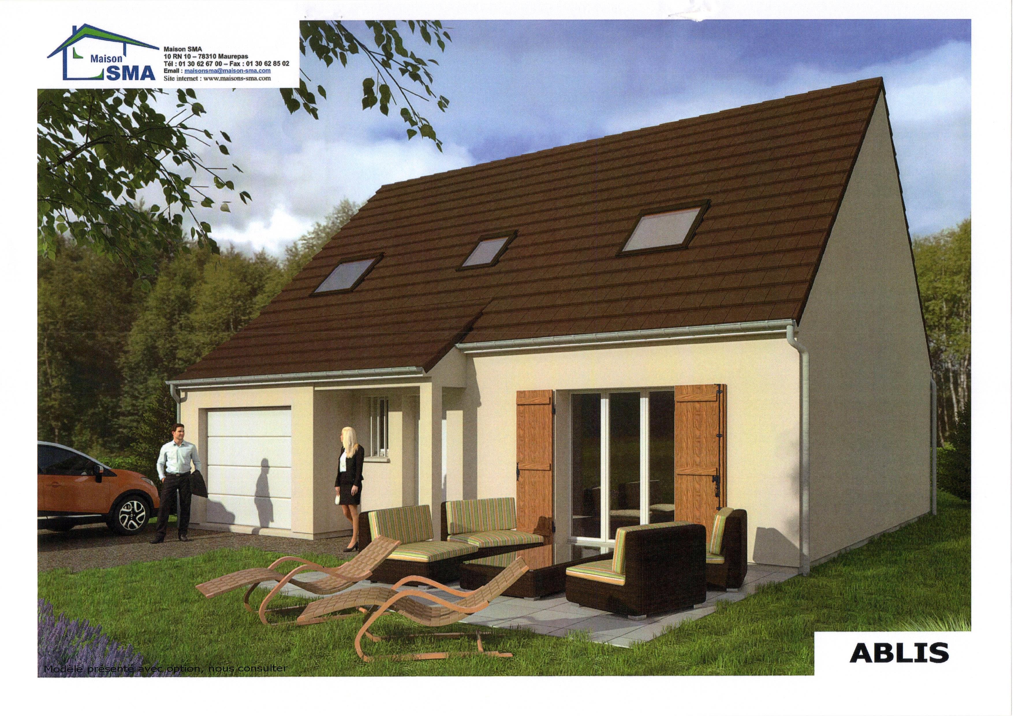 Maisons + Terrains du constructeur MAISON SMA • 101 m² • FONTENAY SAINT PERE