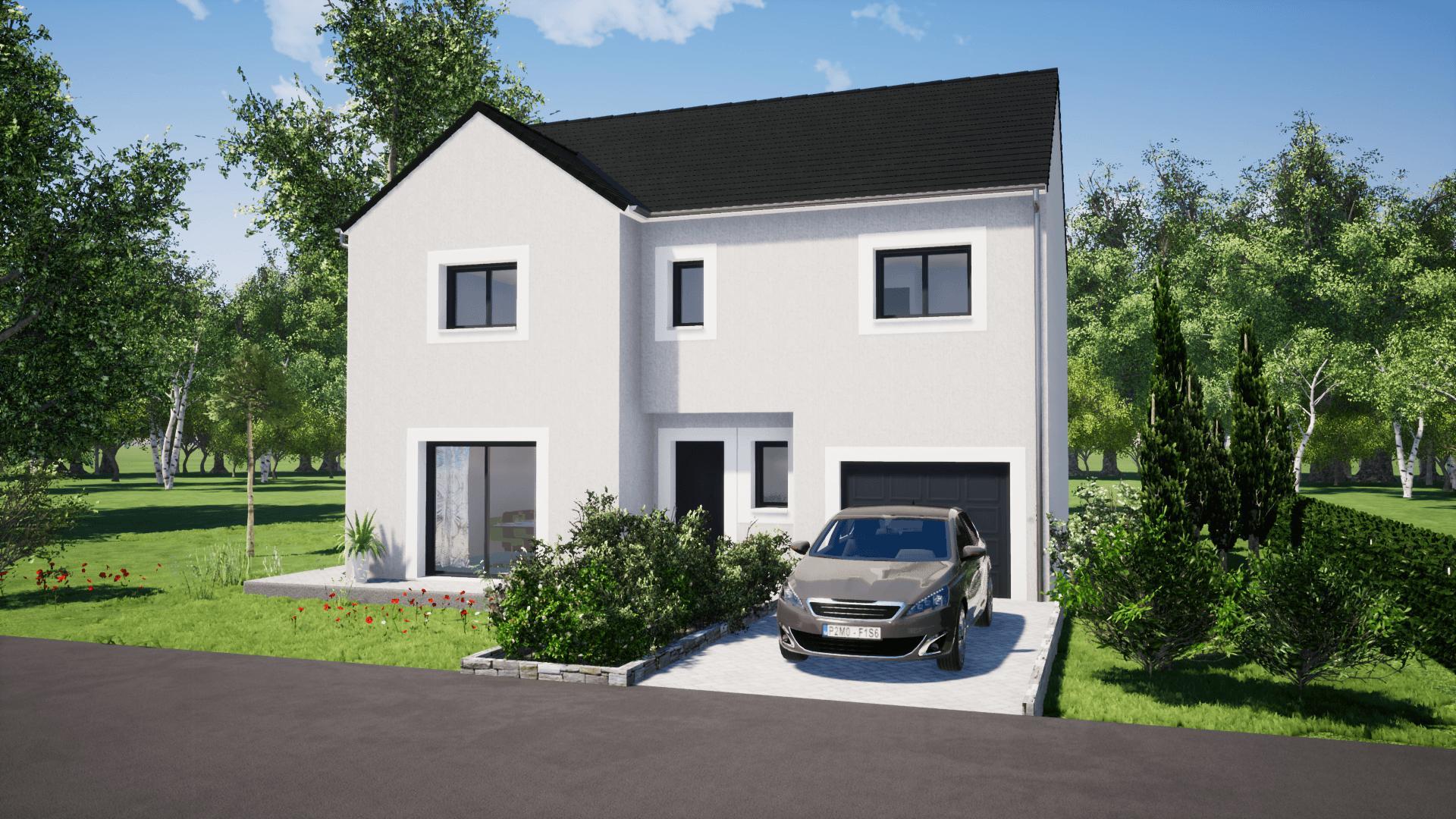 Maisons + Terrains du constructeur MAISON SMA • 125 m² • LIMAY