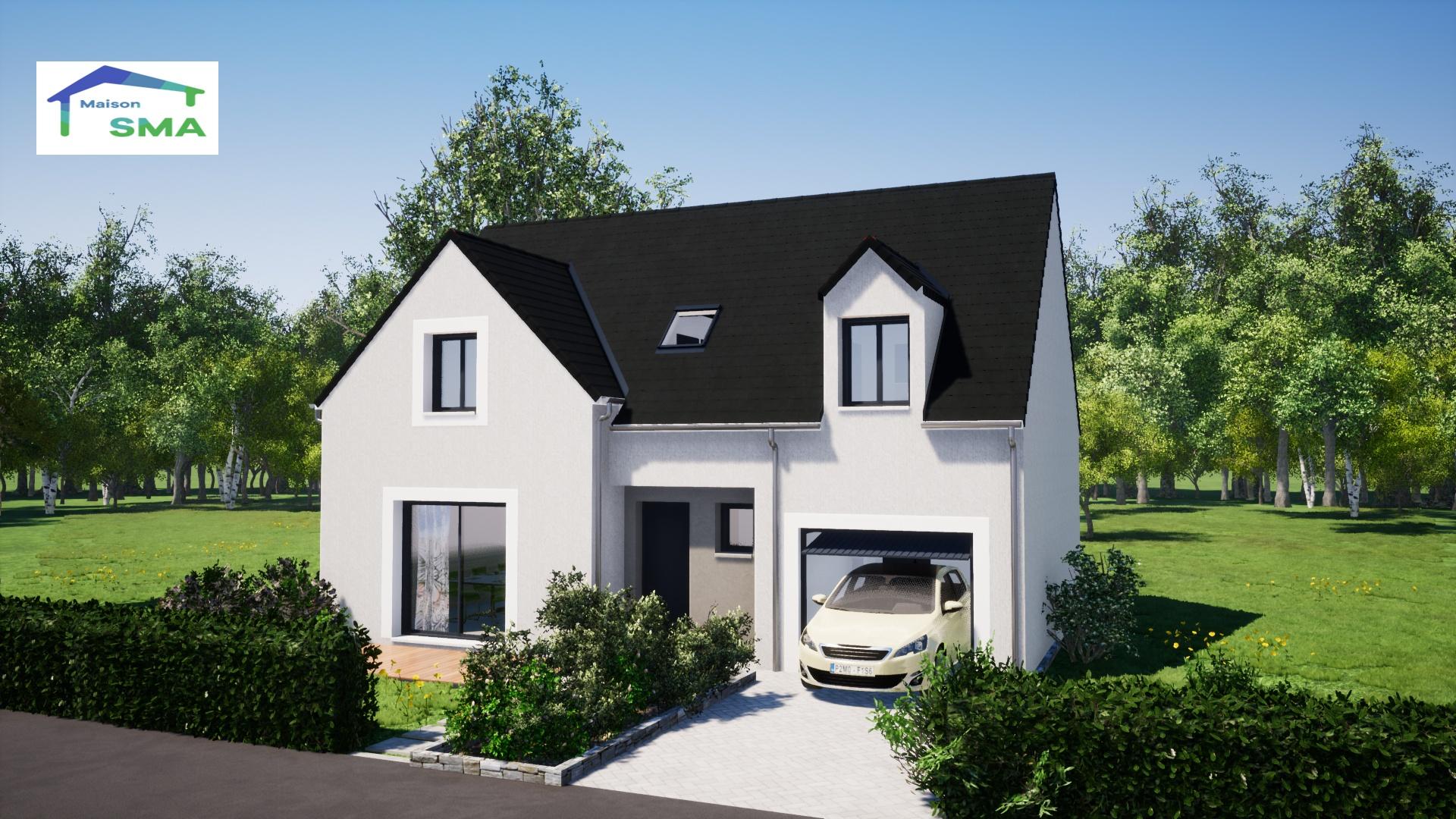 Maisons + Terrains du constructeur MAISON SMA • 103 m² • FONTENAY SAINT PERE