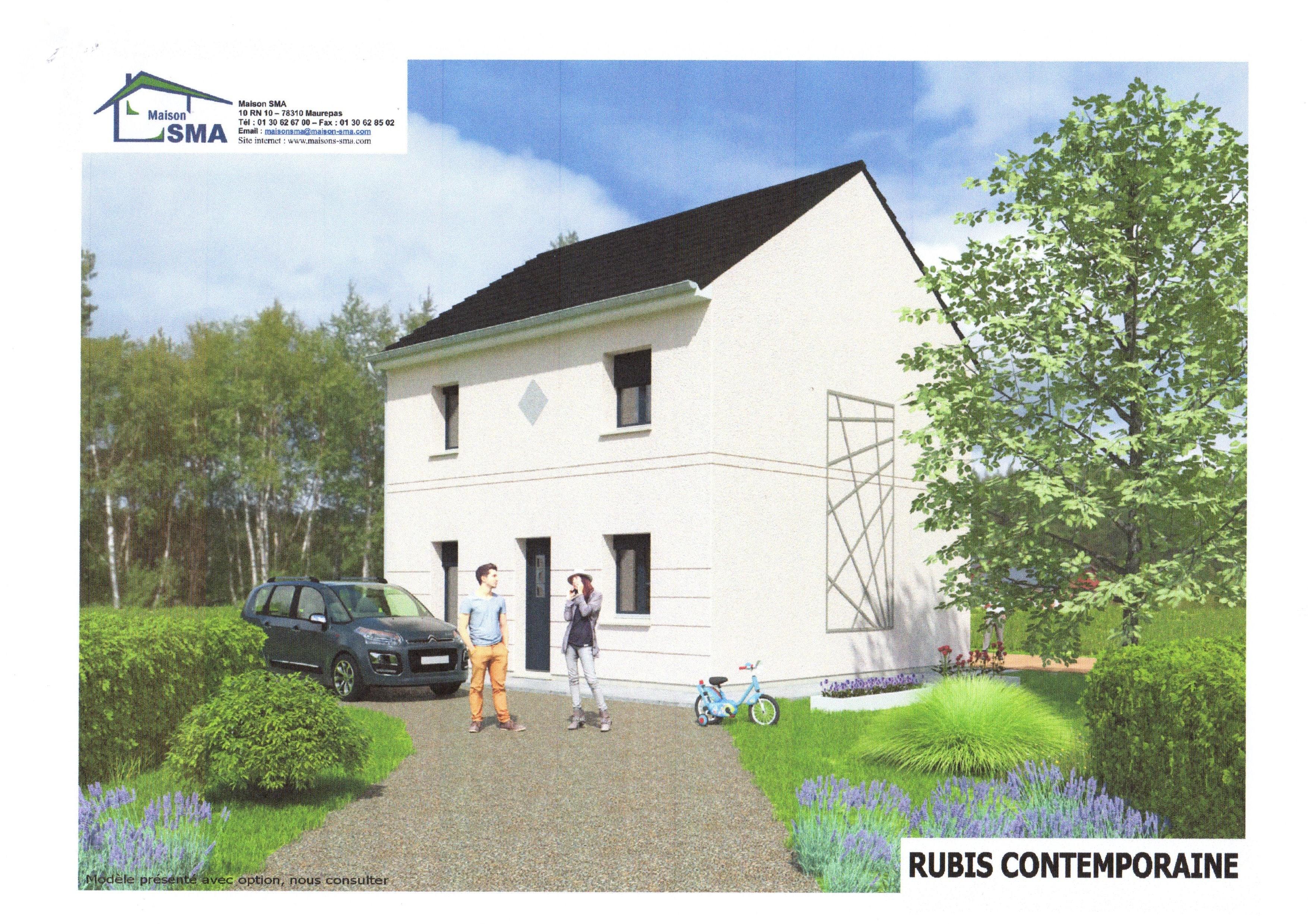 Maisons + Terrains du constructeur MAISON SMA • 85 m² • JUMEAUVILLE