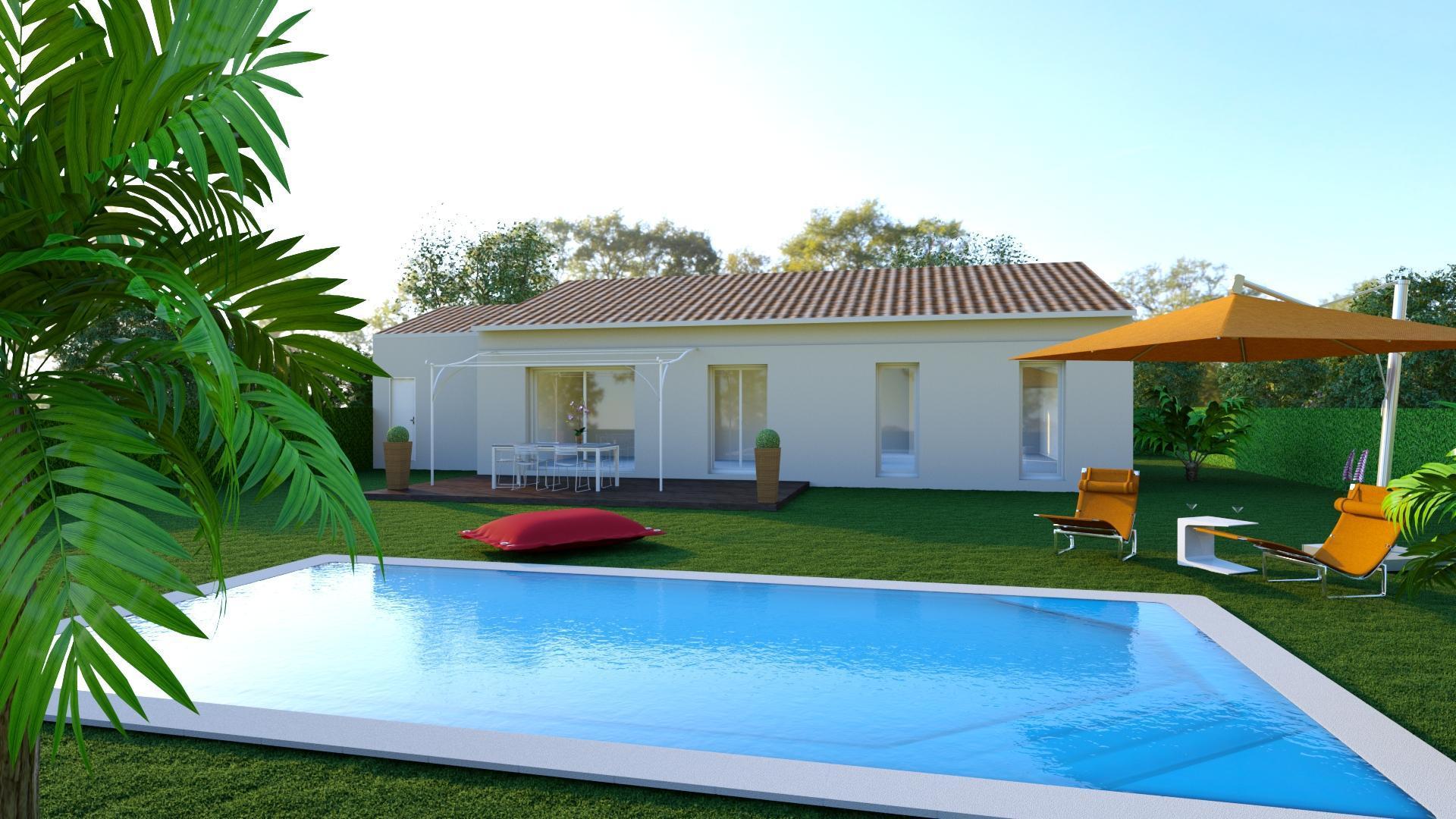 Maisons + Terrains du constructeur Maisons Serge Olivier • 100 m² • MEYNES