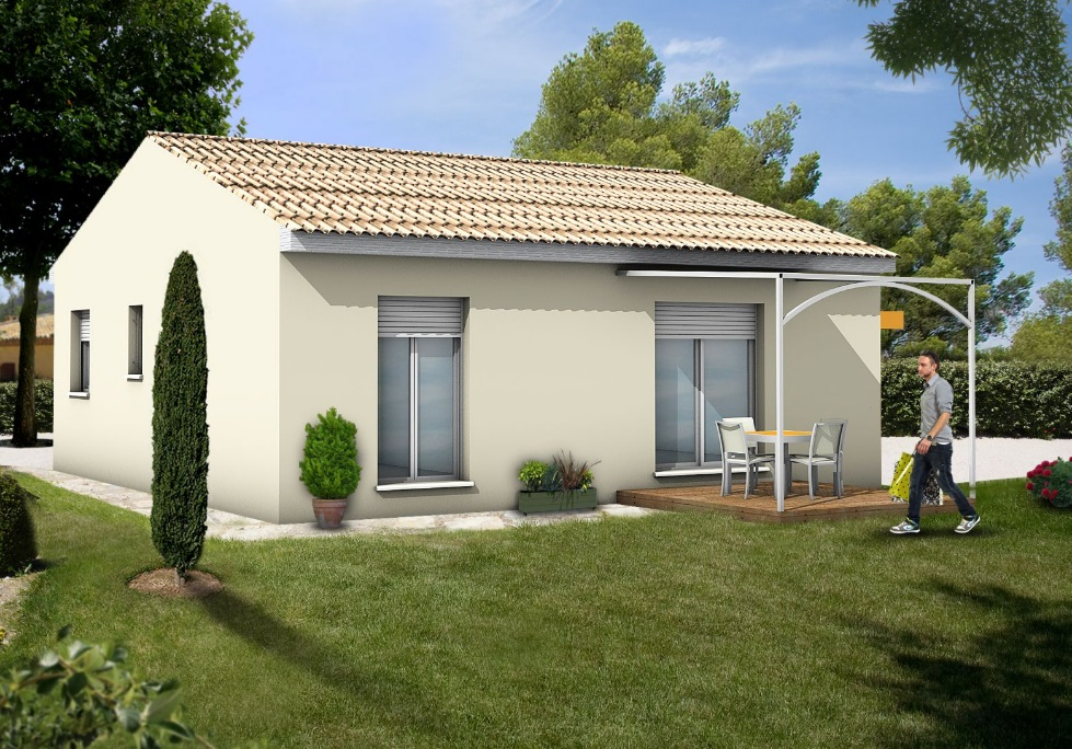 Maisons + Terrains du constructeur Maisons Serge Olivier • SAINT GILLES