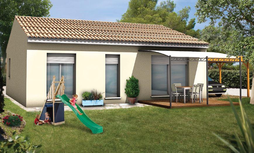 Maisons + Terrains du constructeur Maisons Serge Olivier • MEYNES