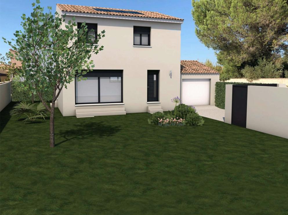 Maisons + Terrains du constructeur Maisons Serge Olivier • 90 m² • SAINT QUENTIN LA POTERIE