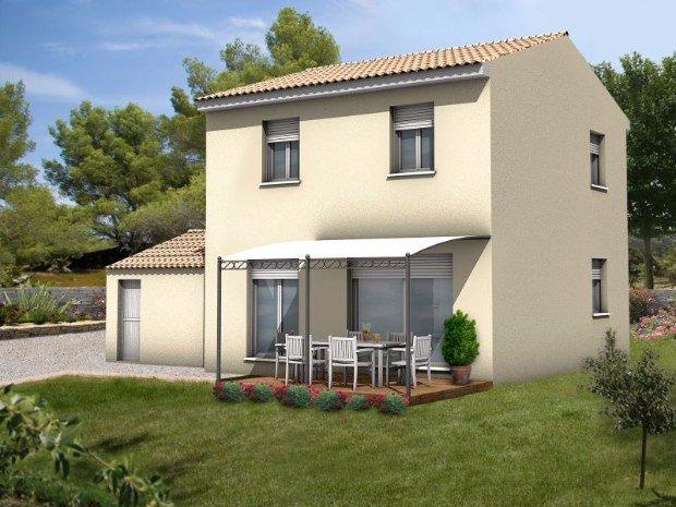 Maisons + Terrains du constructeur Maisons Serge Olivier • 89 m² • NIMES