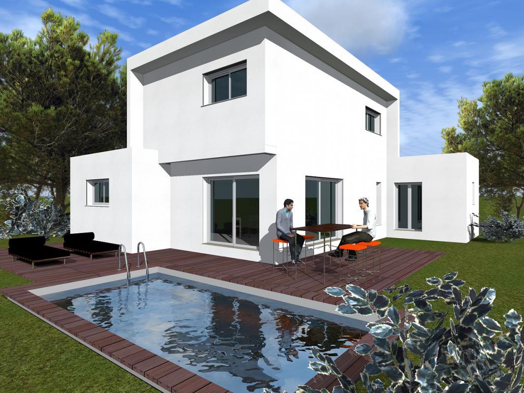 Maisons + Terrains du constructeur MAISONS CLAUDE RIZZON MEDITERRANEE • SAINT AUNES