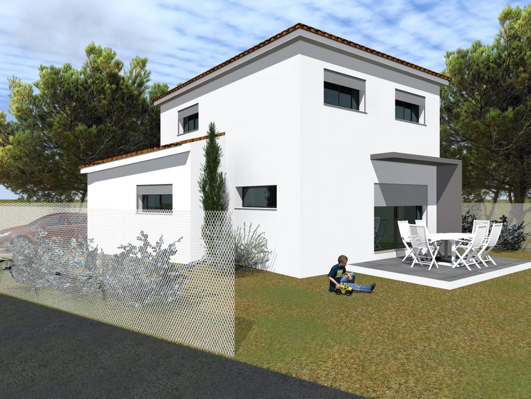 Maisons + Terrains du constructeur MAISONS CLAUDE RIZZON MEDITERRANEE • AIMARGUES